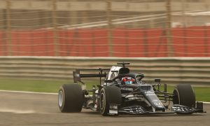Tsunoda exploited DRS to the max on final Bahrain hotlaps