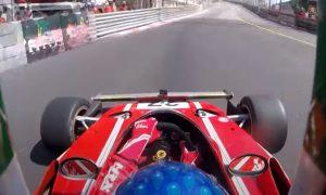 Video: Alesi revives the old red magic in Monaco