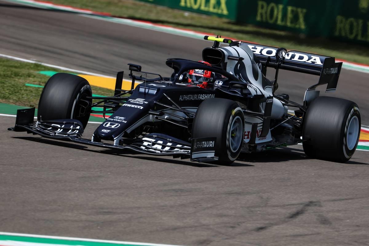 Pierre Gasly (FRA), AlphaTauri F1 16.04.2021. Formula 1 World Championship, Rd 2, Emilia Romagna Grand Prix, Imola