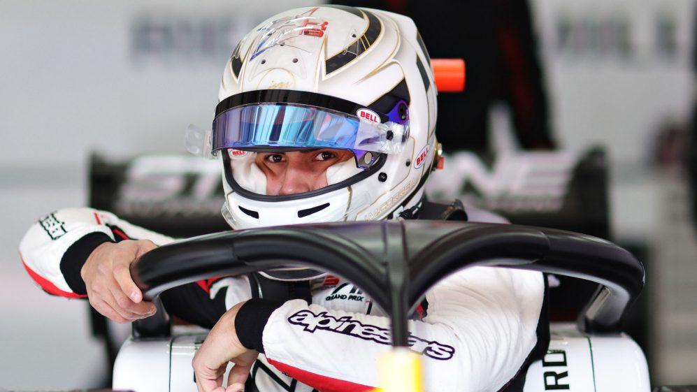 Juan Manuel Correa takesd part in the pre-season FIA Formula 3 test at the Red Bull Ring - April 2021.