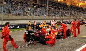 Briatore skeptical over Ferrari podium chances