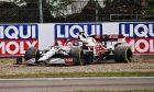Kimi Raikkonen (FIN) Alfa Romeo Racing C41 rejoins the circuit. 18.04.2021. Formula 1 World Championship, Rd 2, Emilia Romagna Grand Prix, Imola