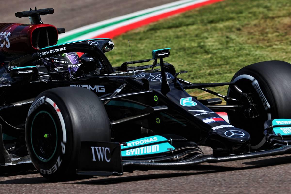 Lewis Hamilton (GBR) Mercedes AMG F1 W12. 16.04.2021. Formula 1 World Championship, Rd 2, Emilia Romagna Grand Prix, Imola