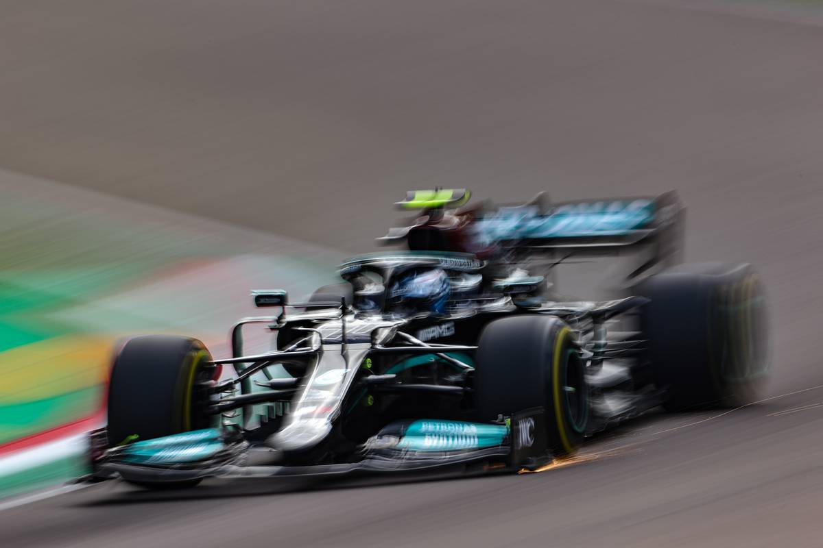 Bottas upbeat after 'better first day' in Imola