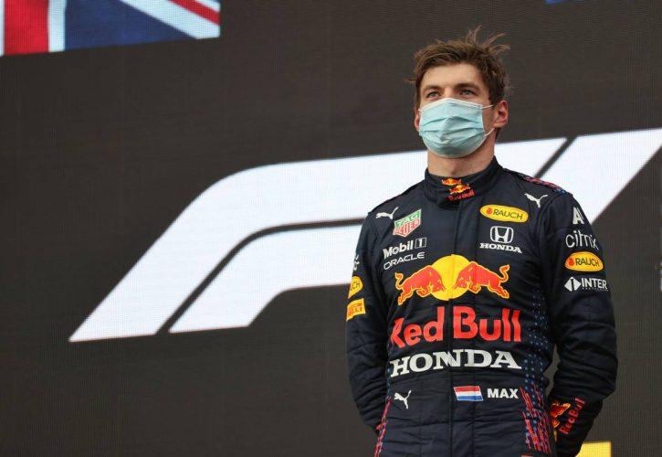 1st place Max Verstappen (NLD) Red Bull Racing. 18.04.2021. Formula 1 World Championship, Rd 2, Emilia Romagna Grand Prix, Imola