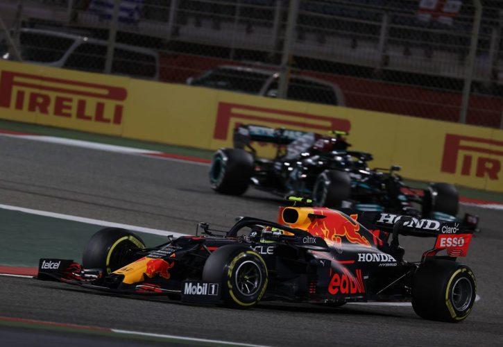 Sergio Perez (MEX) Red Bull Racing RB16B. 28.03.2021. Formula 1 World Championship, Rd 1, Bahrain Grand Prix