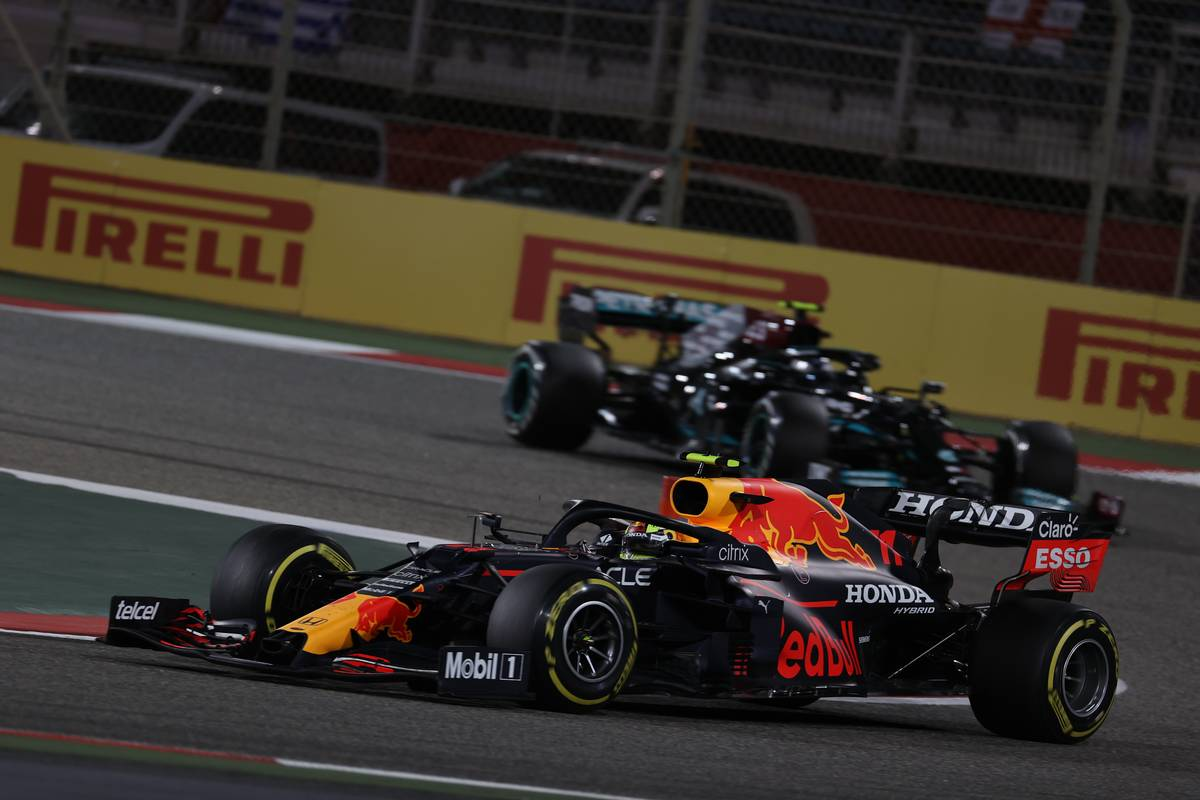 Sergio Perez (MEX) Red Bull Racing RB16B. 28.03.2021. Formula 1 World Championship, Rd 1, Bahrain Grand Prix