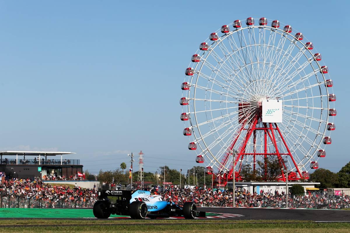 George Russell (GBR) Williams Racing FW42. 13.10.2019. Formula 1 World Championship, Rd 17, Japanese Grand Prix, Suzuka