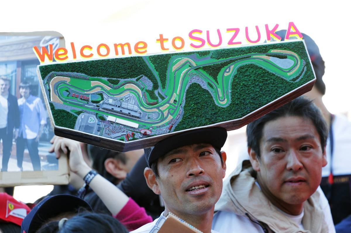 Circuit atmosphere - fans. 13.10.2019. Formula 1 World Championship, Rd 17, Japanese Grand Prix, Suzuka