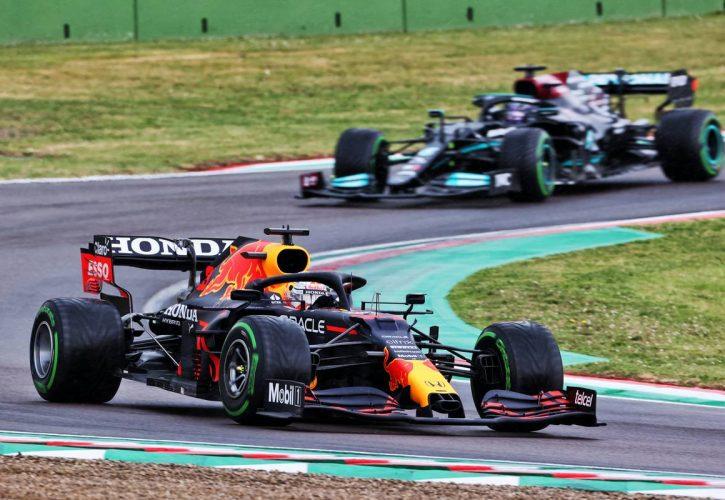 Max Verstappen (NLD) Red Bull Racing RB16B. 18.04.2021. Formula 1 World Championship, Rd 2, Emilia Romagna Grand Prix, Imola,