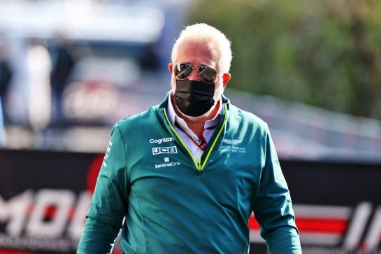 Lawrence Stroll (CDN) Aston Martin F1 Team Investor. 16.04.2021. Formula 1 World Championship, Rd 2, Emilia Romagna Grand Prix, Imola, Italy, Practice Day. - www.xpbimages.com, EMail: requests@xpbimages.com © Copyright: Moy / XPB Images