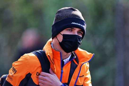 Lando Norris (GBR) McLaren. 16.04.2021. Formula 1 World Championship, Rd 2, Emilia Romagna Grand Prix, Imola, Italy, Practice Day. - www.xpbimages.com, EMail: requests@xpbimages.com © Copyright: Moy / XPB Images