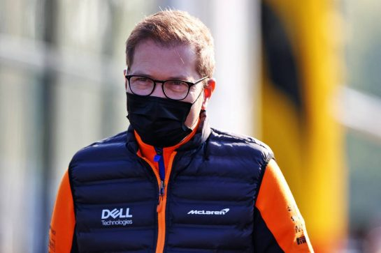 Andreas Seidl, McLaren Managing Director. 16.04.2021. Formula 1 World Championship, Rd 2, Emilia Romagna Grand Prix, Imola, Italy, Practice Day. - www.xpbimages.com, EMail: requests@xpbimages.com © Copyright: Moy / XPB Images