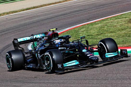 Valtteri Bottas (FIN) Mercedes AMG F1 W12. 16.04.2021. Formula 1 World Championship, Rd 2, Emilia Romagna Grand Prix, Imola, Italy, Practice Day. - www.xpbimages.com, EMail: requests@xpbimages.com © Copyright: Batchelor / XPB Images