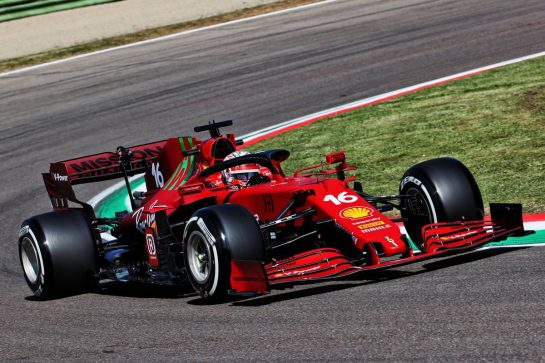 Charles Leclerc (MON) Ferrari SF-21. 16.04.2021. Formula 1 World Championship, Rd 2, Emilia Romagna Grand Prix, Imola, Italy, Practice Day. - www.xpbimages.com, EMail: requests@xpbimages.com © Copyright: Batchelor / XPB Images