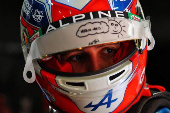 Esteban Ocon (FRA) Alpine F1 Team. 16.04.2021. Formula 1 World Championship, Rd 2, Emilia Romagna Grand Prix, Imola, Italy, Practice Day. - www.xpbimages.com, EMail: requests@xpbimages.com © Copyright: Moy / XPB Images