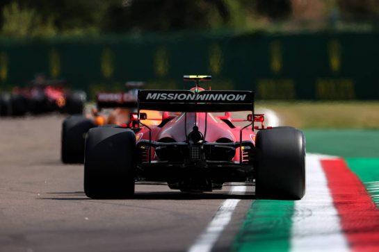 Carlos Sainz Jr (ESP), Scuderia Ferrari 16.04.2021. Formula 1 World Championship, Rd 2, Emilia Romagna Grand Prix, Imola, Italy, Practice Day.- www.xpbimages.com, EMail: requests@xpbimages.com © Copyright: Charniaux / XPB Images