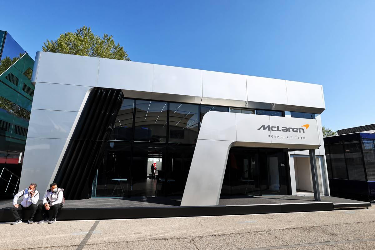 Gallery: A look at F1 teams' 2021 motorhomes