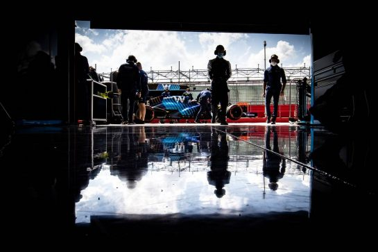 Nicholas Latifi (CDN) Williams Racing FW43B. 16.04.2021. Formula 1 World Championship, Rd 2, Emilia Romagna Grand Prix, Imola, Italy, Practice Day. - www.xpbimages.com, EMail: requests@xpbimages.com © Copyright: Bearne / XPB Images