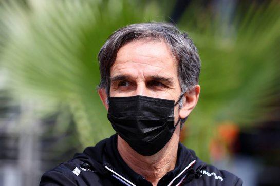 Davide Brivio (ITA) Alpine F1 Team Racing Director. 16.04.2021. Formula 1 World Championship, Rd 2, Emilia Romagna Grand Prix, Imola, Italy, Practice Day. - www.xpbimages.com, EMail: requests@xpbimages.com © Copyright: Moy / XPB Images