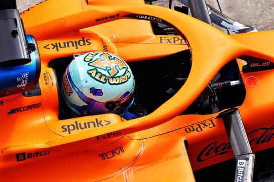 Daniel Ricciardo (AUS) McLaren MCL35M. 16.04.2021. Formula 1 World Championship, Rd 2, Emilia Romagna Grand Prix, Imola, Italy, Practice Day. - www.xpbimages.com, EMail: requests@xpbimages.com © Copyright: Moy / XPB Images