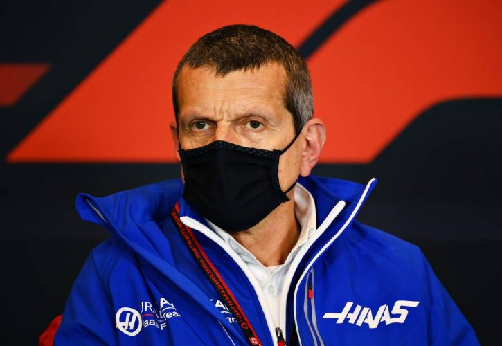 Guenther Steiner (ITA) Haas F1 Team Principal in the FIA Press Conference.