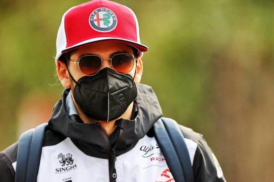 Antonio Giovinazzi (ITA) Alfa Romeo Racing. 17.04.2021. Formula 1 World Championship, Rd 2, Emilia Romagna Grand Prix, Imola, Italy, Qualifying Day. - www.xpbimages.com, EMail: requests@xpbimages.com © Copyright: Moy / XPB Images