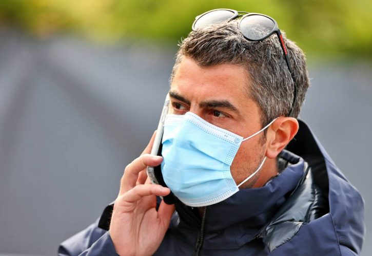 Michael Masi (AUS) FIA Race Director. 17.04.2021. Formula 1 World Championship, Rd 2, Emilia Romagna Grand Prix, Imola