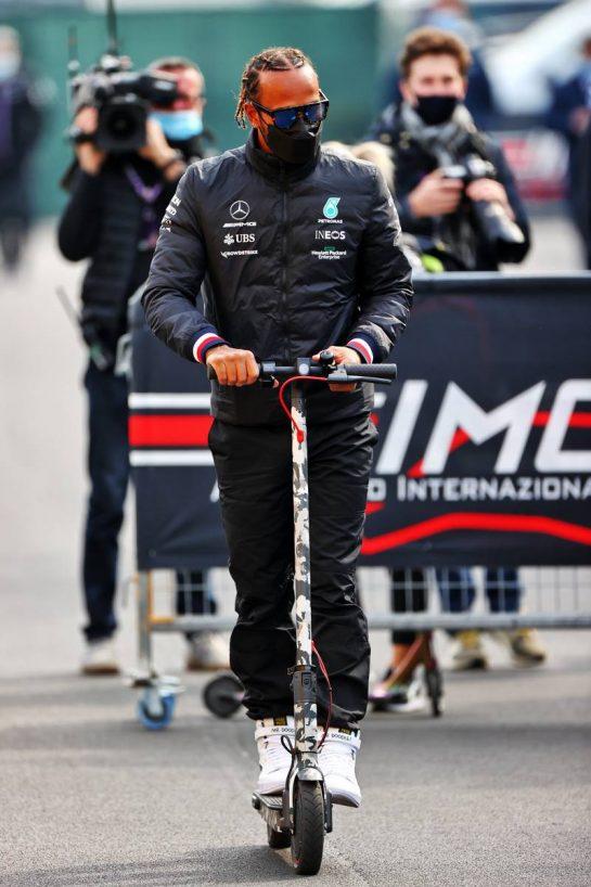 Lewis Hamilton (GBR) Mercedes AMG F1. 17.04.2021. Formula 1 World Championship, Rd 2, Emilia Romagna Grand Prix, Imola, Italy, Qualifying Day. - www.xpbimages.com, EMail: requests@xpbimages.com © Copyright: Moy / XPB Images