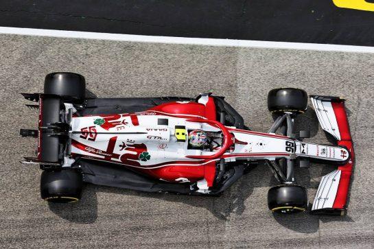 Antonio Giovinazzi (ITA) Alfa Romeo Racing C41. 17.04.2021. Formula 1 World Championship, Rd 2, Emilia Romagna Grand Prix, Imola, Italy, Qualifying Day. - www.xpbimages.com, EMail: requests@xpbimages.com © Copyright: Batchelor / XPB Images