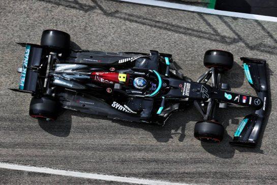 Valtteri Bottas (FIN) Mercedes AMG F1 W12. 17.04.2021. Formula 1 World Championship, Rd 2, Emilia Romagna Grand Prix, Imola, Italy, Qualifying Day. - www.xpbimages.com, EMail: requests@xpbimages.com © Copyright: Batchelor / XPB Images