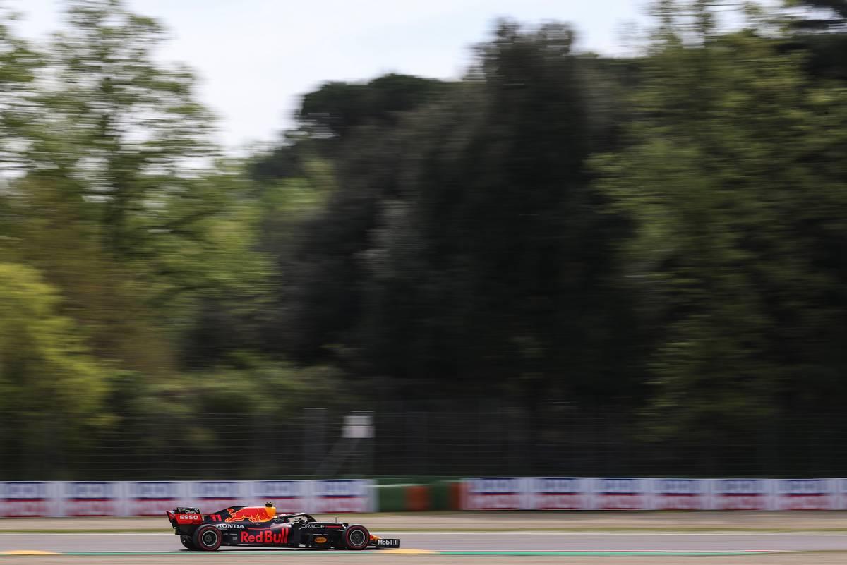 Sergio Perez (MEX), Red Bull Racing  17.04.2021. Formula 1 World Championship, Rd 2, Emilia Romagna Grand Prix, Imola