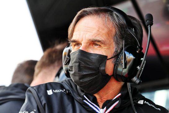Davide Brivio (ITA) Alpine F1 Team Racing Director. 17.04.2021. Formula 1 World Championship, Rd 2, Emilia Romagna Grand Prix, Imola, Italy, Qualifying Day. - www.xpbimages.com, EMail: requests@xpbimages.com © Copyright: Moy / XPB Images