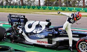 Tsunoda's Imola crash 'not a trend of him pushing too hard'
