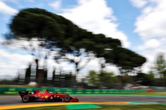 Charles Leclerc (MON) Ferrari SF-21. 17.04.2021. Formula 1 World Championship, Rd 2, Emilia Romagna Grand Prix, Imola, Italy, Qualifying Day. - www.xpbimages.com, EMail: requests@xpbimages.com © Copyright: Batchelor / XPB Images