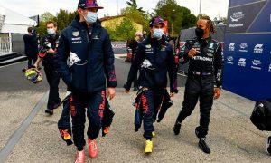 Emilia Romagna GP: Saturday's action in pictures