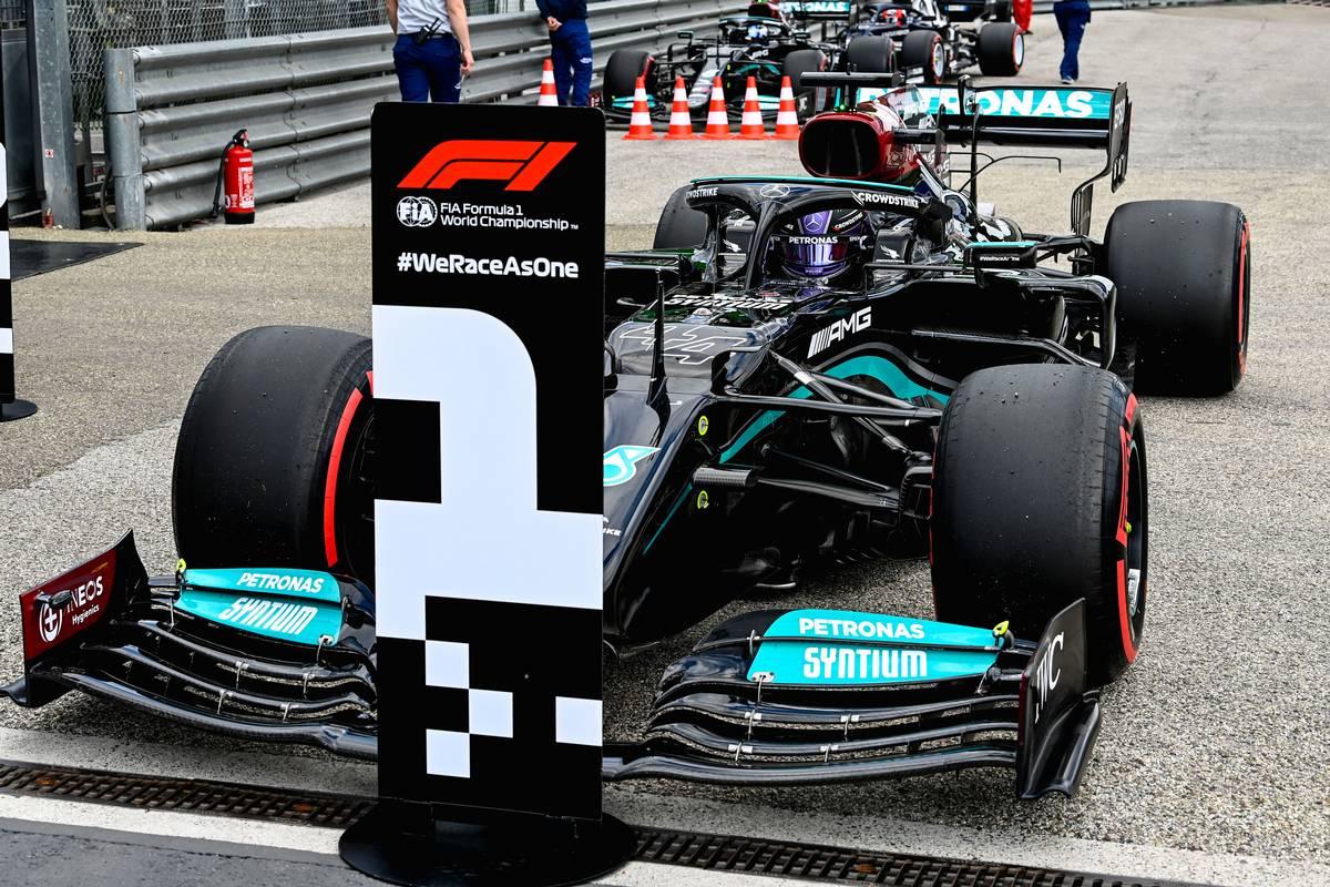 Hamilton 'definitely didn't expect' 99th pole at Imola