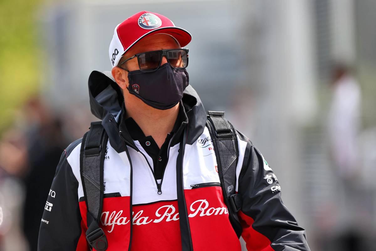 Kimi Raikkonen (FIN) Alfa Romeo Racing. 18.04.2021. Formula 1 World Championship, Rd 2, Emilia Romagna Grand Prix, Imola