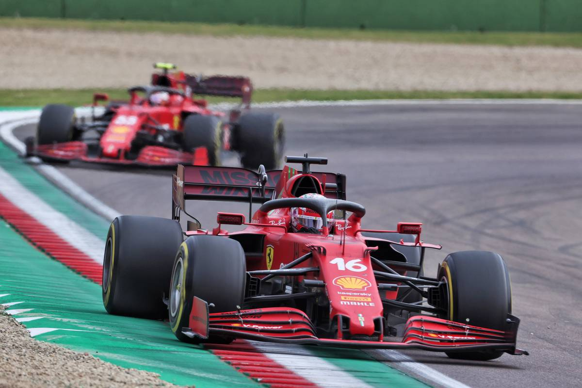 Leclerc 'happy but frustrated' with wet Imola outcome
