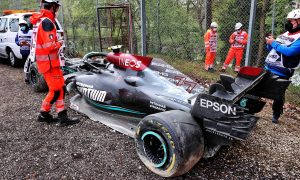Mercedes fear cost of Bottas crash could impact upgrades