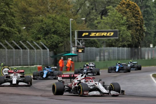 Kimi Raikkonen (FIN) Alfa Romeo Racing C41. 18.04.2021. Formula 1 World Championship, Rd 2, Emilia Romagna Grand Prix, Imola, Italy, Race Day. - www.xpbimages.com, EMail: requests@xpbimages.com © Copyright: Batchelor / XPB Images