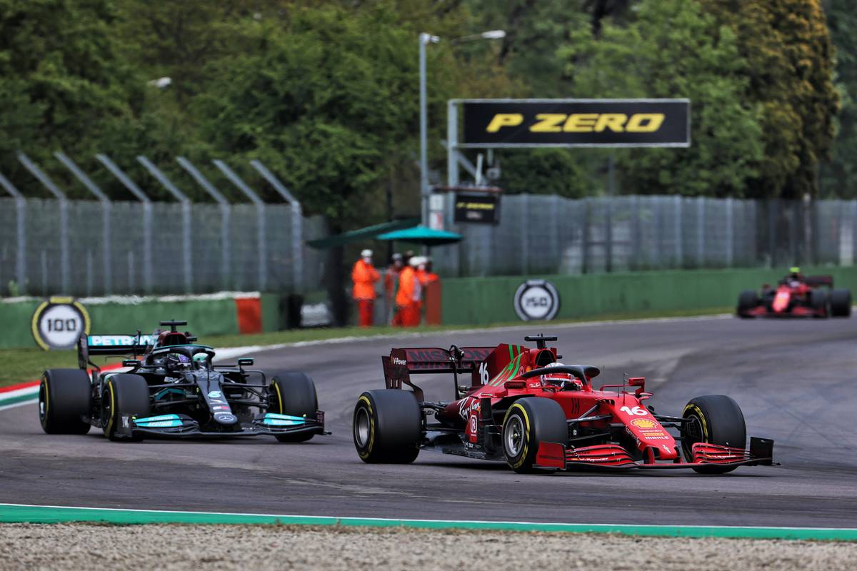 Charles Leclerc (MON) Ferrari SF-21. 18.04.2021. Formula 1 World Championship, Rd 2, Emilia Romagna Grand Prix, Imola