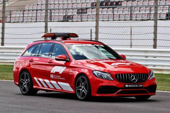 The Mercedes FIA Medical Car  29.04.2021. Formula 1 World Championship, Rd 3, Portuguese Grand Prix, Portimao, Portugal, Preparation Day. - www.xpbimages.com, EMail: requests@xpbimages.com © Copyright: Batchelor / XPB Images