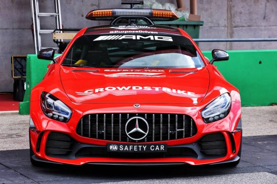 The Mercedes FIA Safety Car.