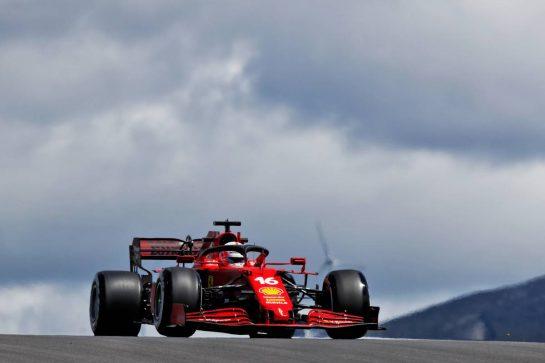 Charles Leclerc (MON) Ferrari SF-21. 30.04.2021. Formula 1 World Championship, Rd 3, Portuguese Grand Prix, Portimao, Portugal, Practice Day.  - www.xpbimages.com, EMail: requests@xpbimages.com © Copyright: Staley / XPB Images