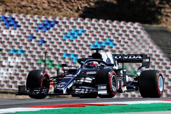 Yuki Tsunoda (JPN) AlphaTauri AT02. 30.04.2021. Formula 1 World Championship, Rd 3, Portuguese Grand Prix, Portimao, Portugal, Practice Day. - www.xpbimages.com, EMail: requests@xpbimages.com © Copyright: Batchelor / XPB Images