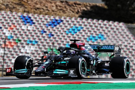 Lewis Hamilton (GBR) Mercedes AMG F1 W12. 30.04.2021. Formula 1 World Championship, Rd 3, Portuguese Grand Prix, Portimao, Portugal, Practice Day. - www.xpbimages.com, EMail: requests@xpbimages.com © Copyright: Batchelor / XPB Images