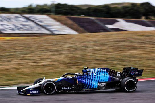 Nicholas Latifi (CDN) Williams Racing FW43B. 30.04.2021. Formula 1 World Championship, Rd 3, Portuguese Grand Prix, Portimao, Portugal, Practice Day. - www.xpbimages.com, EMail: requests@xpbimages.com © Copyright: Batchelor / XPB Images
