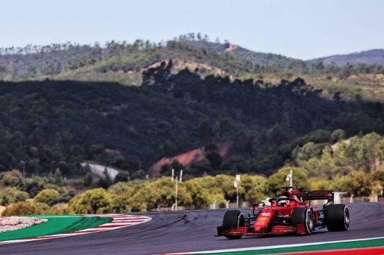 Charles Leclerc (MON) Ferrari SF-21. 30.04.2021. Formula 1 World Championship, Rd 3, Portuguese Grand Prix, Portimao, Portugal, Practice Day. - www.xpbimages.com, EMail: requests@xpbimages.com © Copyright: Batchelor / XPB Images