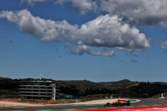 Daniel Ricciardo (AUS) McLaren MCL35M. 30.04.2021. Formula 1 World Championship, Rd 3, Portuguese Grand Prix, Portimao, Portugal, Practice Day. - www.xpbimages.com, EMail: requests@xpbimages.com © Copyright: Batchelor / XPB Images